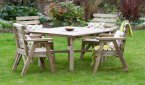 Zest4Leisure Abbey Square Table & 4 Chair Set