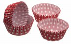 Sweetly Does It Mini Paper Bun Case Polka Dot 4.5cm, Pack of 80