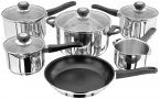 Judge Vista Draining 6 Piece Saucepan Set