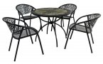 Exclusive Garden Montilla 91cm Patio with 4 Florence Chairs