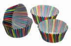 Sweetly Does It Petit Paper Bun Case Stripe 4cm, Pack of 80