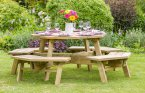 Zest4Leisure Alex Octagon Picnic Table