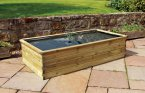 Zest4Leisure Aquatic Planter 1.80 x 0.90 x 0.45m