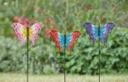 Smart Garden Looney Stakes - Assorted Flutterbies