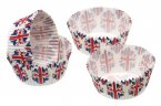 Sweetly Does It Paper Cake Case Union Flag 7cm Pack of 60