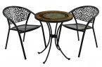 Exclusive Garden Villena 60cm Bistro with 2 Florence Chairs
