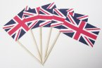 NJ Products Union Jack Sandwich Flags Pack of 10