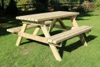 Churnet Valley Deluxe Picnic Table 1800mm