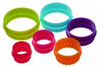 Six Piece Round Cookie Cutter Set