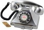 GPO Carrington Classic Retro Telephone - Chrome