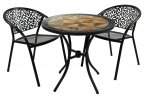 Exclusive Garden Tobarra 76cm with Bistro 2 Florence Chairs