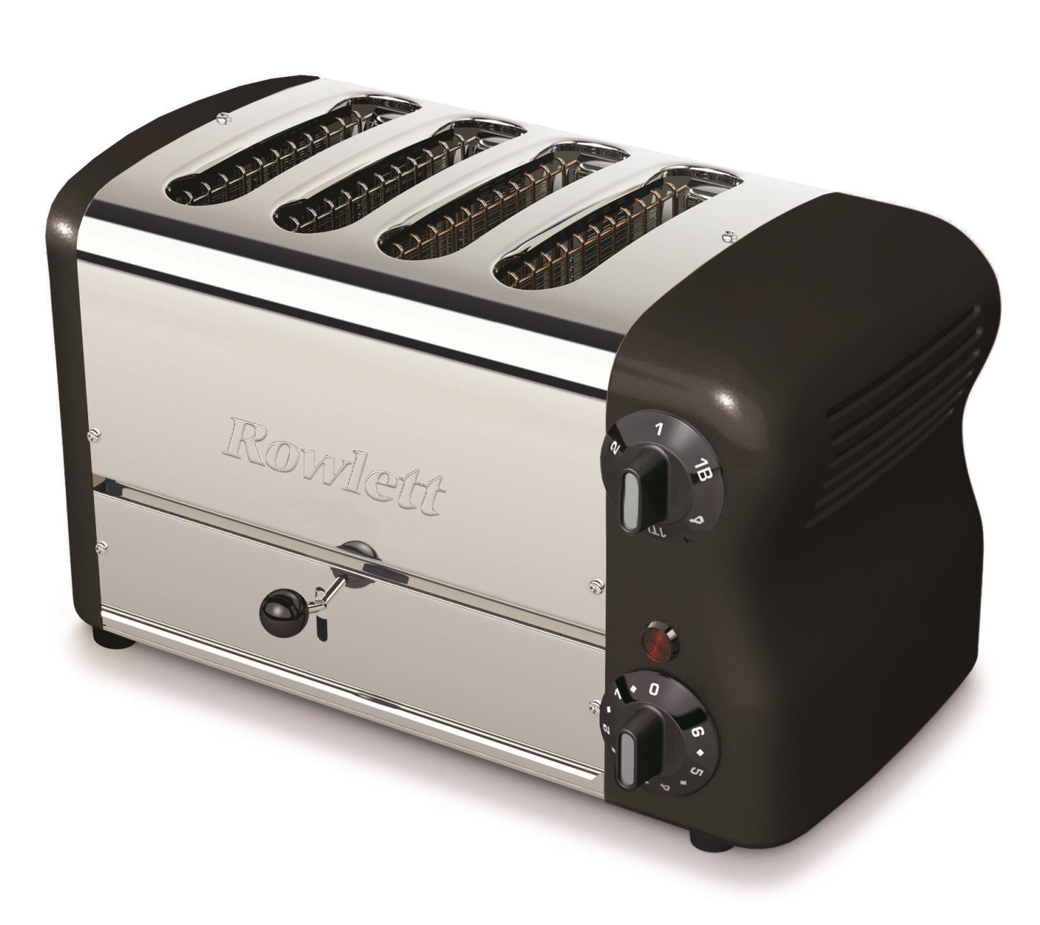 Rowlett Rutland Esprit 4 Slot Thick N Thin Toaster With