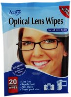 icare optical lens wipes