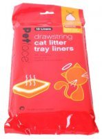Petface Drawstring Litter Liner (Pack of 10) - Medium