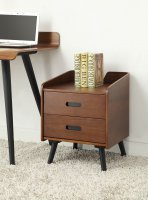 Jual Vienna 2 Drawer Pedestal   in Walnut