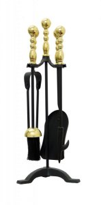 Manor Reproductions Companion Set Westminster - Black/Brass - 55