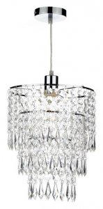 Dar Cilla Non Electric Clear Pendant