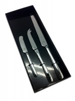 Grunwerg Cutlery Windsor Pattern 18/0 Stainless Steel 3 Piece Knife Set