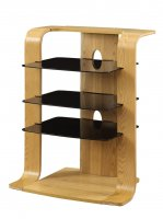Jual Florence Wood Entertainment Unit in Oak