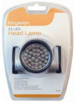 Kingavon 33 LED Head Lamp