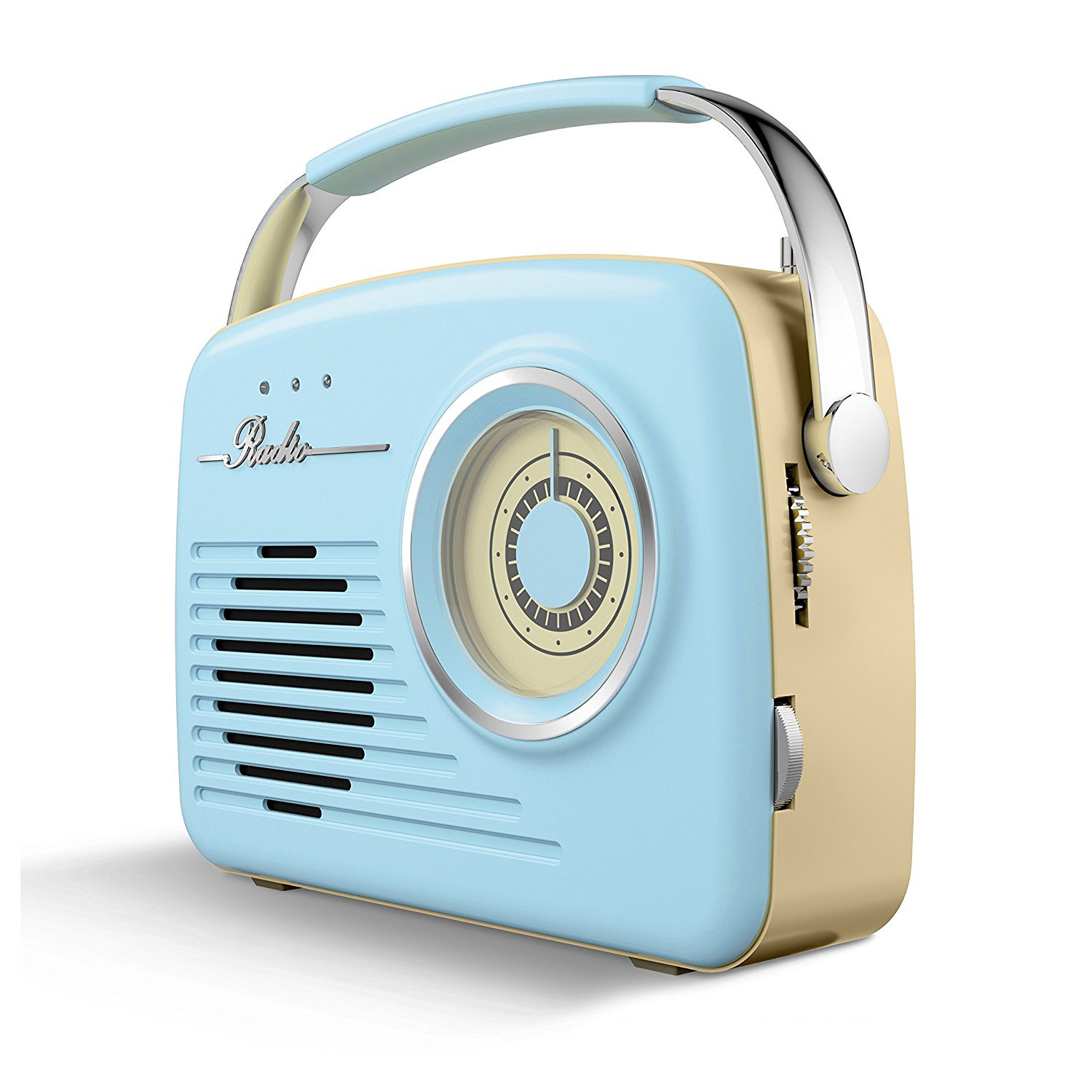 Akai Am Fm Retro Radio Blue At Barnitts Online Store Uk