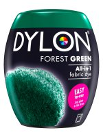 Dylon All-In-1 Fabric Dye Pod in Forest Green