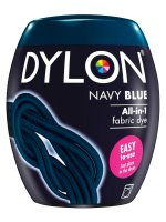 Dylon All-In-1 Fabric Dye Pod in Navy Blue