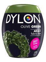 Dylon All-In-1 Fabric Dye Pod in Olive Green