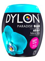 Dylon Machine Wash Dye Pod In Paradise Blue 21
