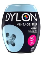 Dylon All-In-1 Fabric Dye Pod in Vintage Blue