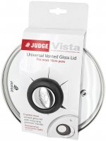 Judge Vista Universal Vented Glass Lid - Various Sizes