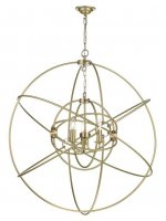 David Hunt Orb 3 Light Large Pendant Butter Brass