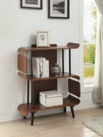 Jual Vienna Short Book Case in Walnut