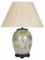 Pacific Lifestyle Jenny Worrall Medium Oval Glass Table Lamp