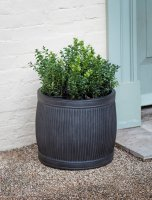 Garden Trading Bathford Planter, Small H36cm - Fibre Clay