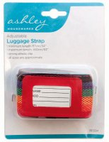 Ashley Adjustable Luggage Strap