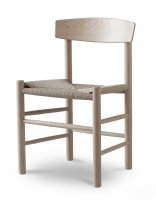 Garden Trading Longworth Set of 2 Chairs in Raw Oak
