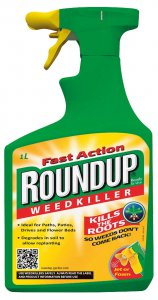 Roundup Fast Action Weedkiller 1 Litre