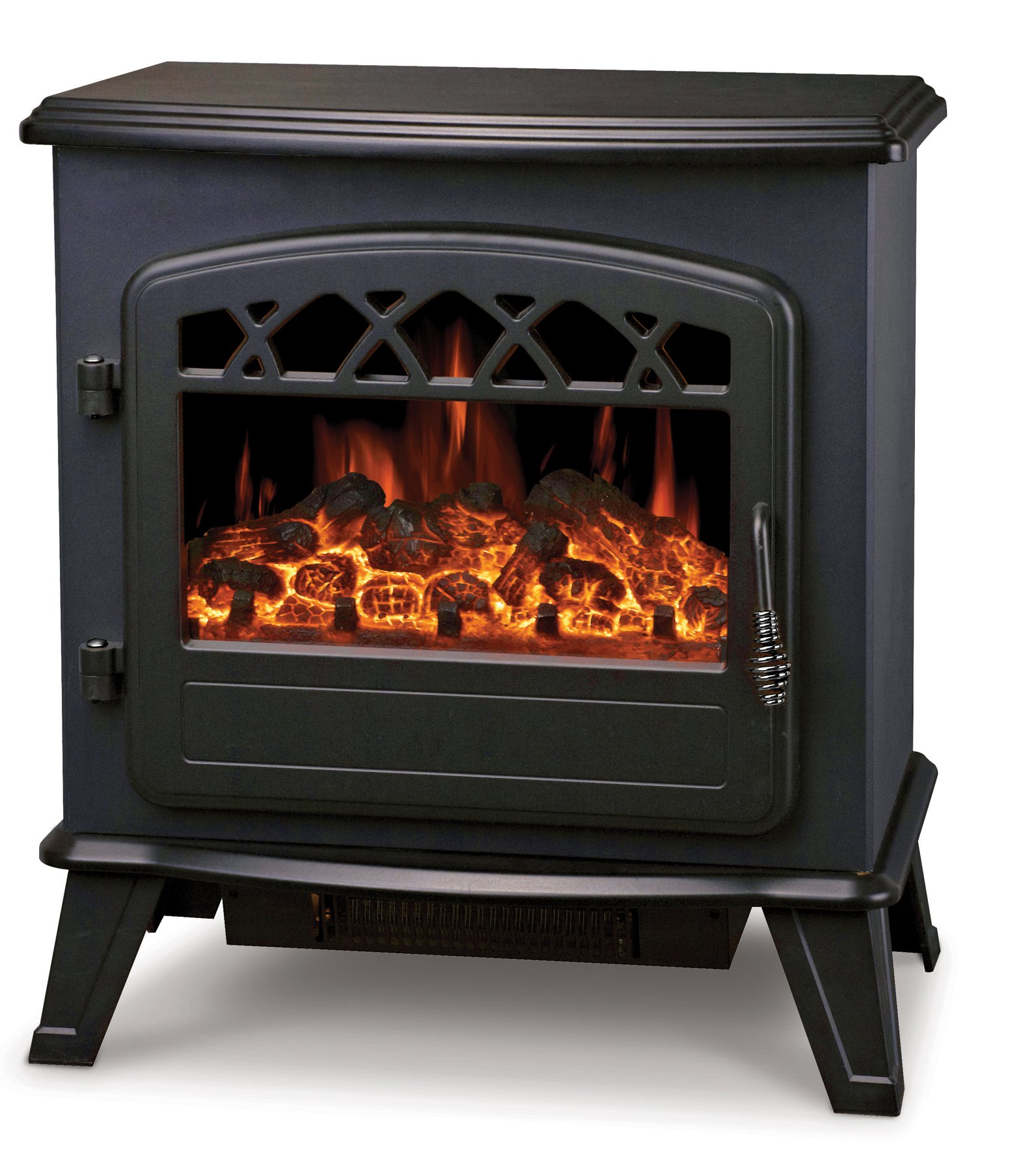 Manor Reproductions Zodiac Electric Stove Black At