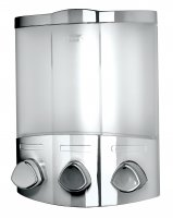 Croydex Euro Soap Dispenser Trio Chrome