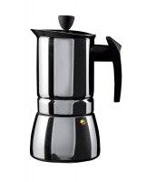 Café Olé Stainless Steel Espresso Coffee Maker 6 Cup