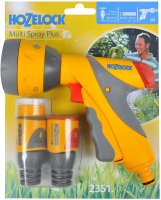 Hozelock Multi Spray Plus Gun & Fittings