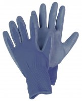 seed & weed gloves blue