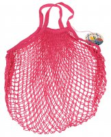 Rex French Style String Shopping Bag Pink