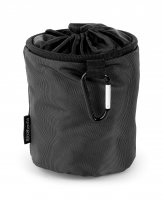Brabantia Premium Clothes Peg Bag in Black/Silver