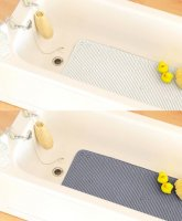 Country Club Cushioned Design PVC Bath Mat - Assorted