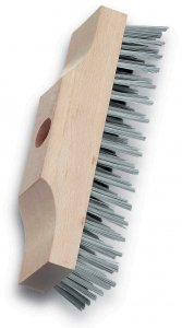 Lessman Wire Brush Broom Head 220mm x 60mm