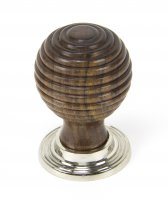 Rosewood and PN Beehive Cabinet Knob 38mm