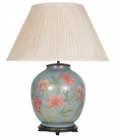 Pacific Lifestyle Jenny Worrall Large Round Glass Table Lamp