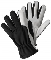 Briers Super Soft and Strong Leather Gardening Gloves Black
